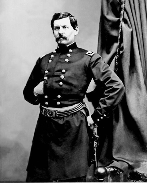 General George B. McClellan by Matthew Brady