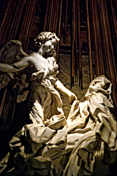 an analysis of the art history and the piece of the ecstasy of st teresa by bernini