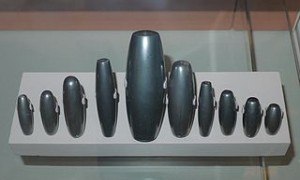 Haematite weights from Mesopotamia circa 1700 BCE.  Source