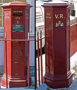 letterbox, Union Street, Guernsey