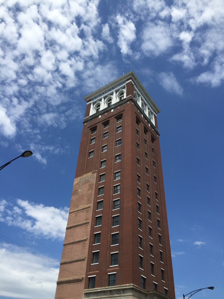 The original Sears Tower in Homan Square